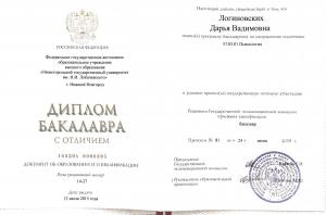Логиновских Дарья Вадимовна