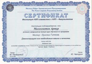 Малохметов Артур Алмасович