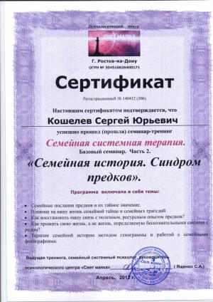Кошелев Сергей Юрьевич