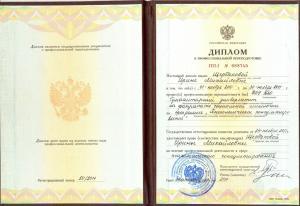 Щербакова Ирина Михайловна