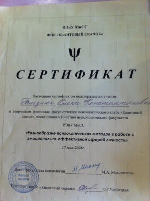 Близнюк Елена  Константиновна